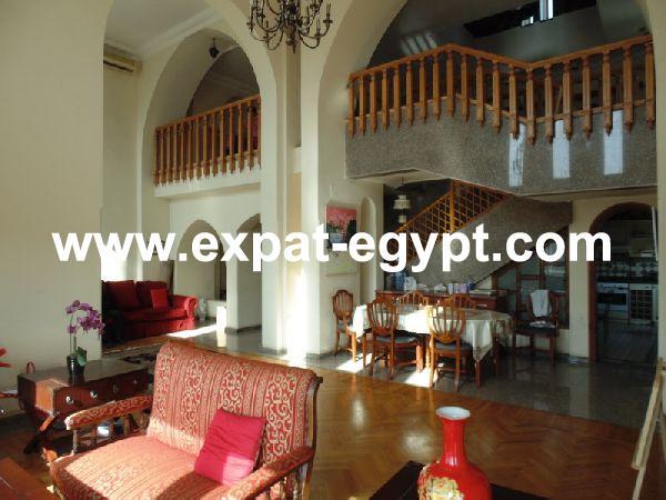 penthouse duplex for sale in dokki , giza , egypt .