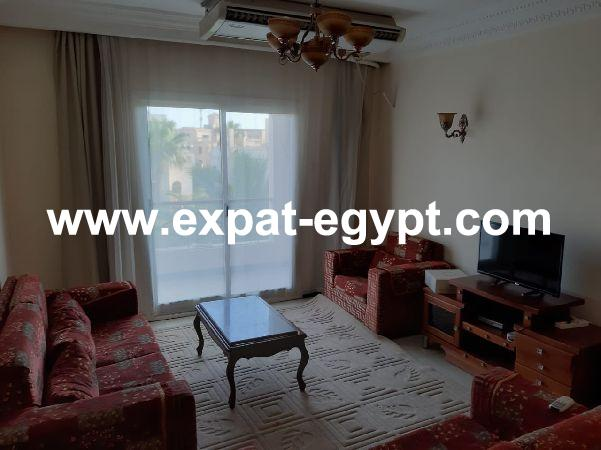 apartment for rent in El Mohandsein Gardens compound, sheikh zayed