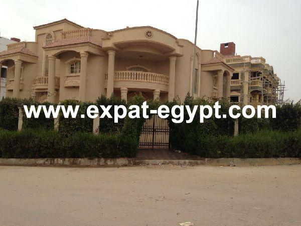Villa for sale in New Cairo – Narges Compound, Cairo, Egypt