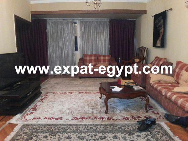 Well located overlooking Nile Apartment for rent in Dokki, Giza, Egypt
