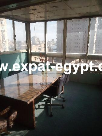 Overlooking Nile Office for rent in Dokki, Giza, Egypt