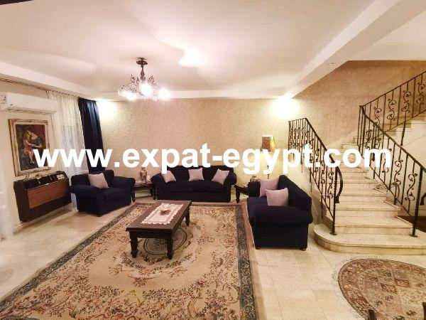 Villa for Rent in Rehab City, New Cairo, Egypt