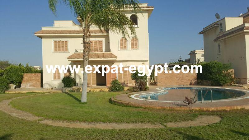 Villa stand alone for sale in Golf Solimania , Cairo Alex Road ,Giza , Egyp