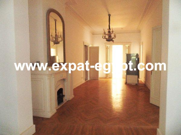 Nile Views Apartment for Rent in Zamalek, Cairo, Egypt