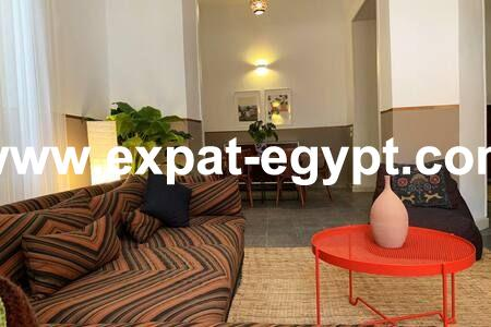 High ceiling Apartment for rent  in Garden City, Cairo, Egypt
