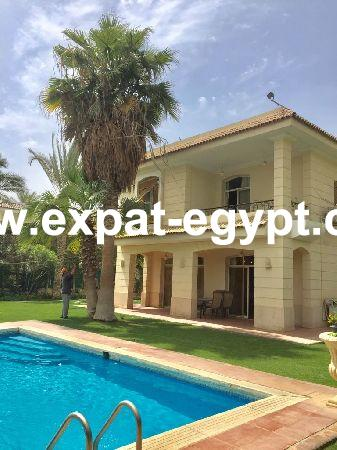 Villa for rent in compound Azizah compound, Cairo- Alex Road, Egypt