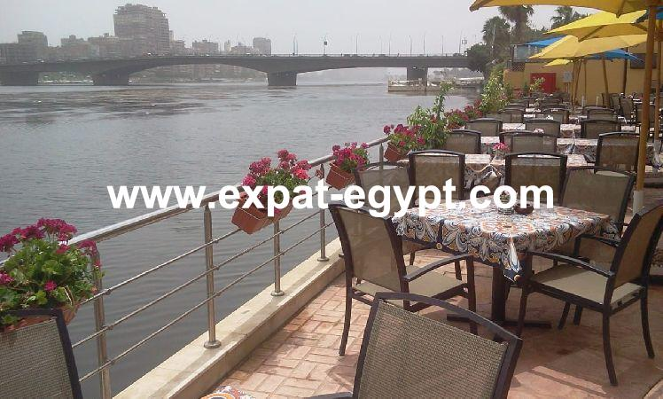 Restaurant on the Nile for sale in Dokki Giza, Cairo Egypt