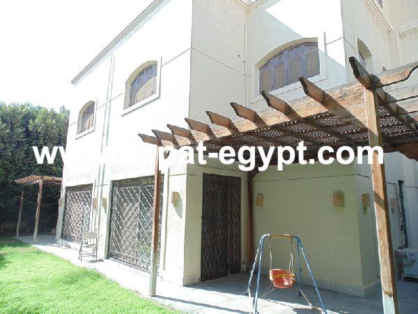 Twin Villa for rent in Royal Hills compound in 6th of October, Giza, Egypt