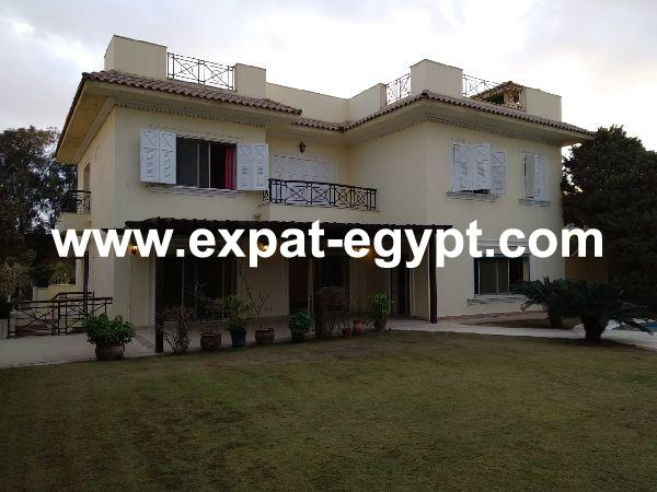 Villa for rent in Katamya Heights, New Cairo, Egypt