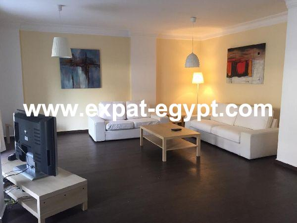 Fully furnished apartment for rent or sale in el maadi Saryat