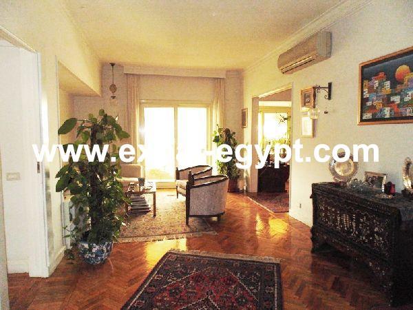 Egypt, Cairo, Zamalek,  Apartment for rent Semi furnished