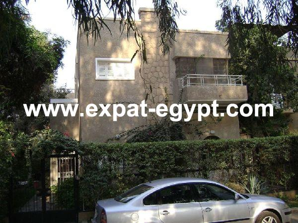 Villa for Rent in Maadi, Cairo, Egypt