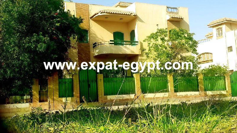 Villa for rent  in Shorouk Gardens compound, Shorouk City,  Cairo, Egyp