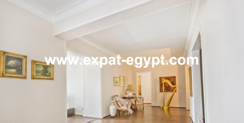 Apartment for Rent in Zamalek over looking the Nile