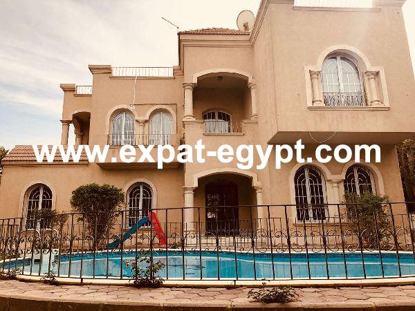 Luxury Villa  for rent in Rawda compound, 6th of October, Giza, Egypt