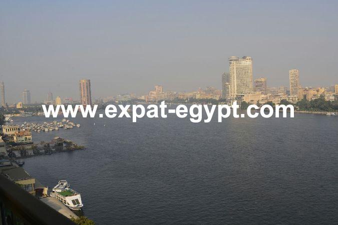 Apartment Nile Views for Rent in Giza Corniche, Cairo Egypt